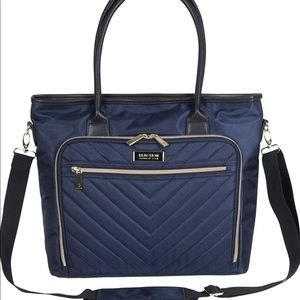 "Kenneth Cole Reaction Bag Quilted 15"" Laptop"